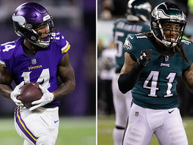 Watch: Who has the edge: Vikings' WRs or Eagles' DBs?
