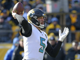Watch: Omar Ruiz: Jaguars teammates defending Blake Bortles against criticism