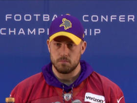 Watch: Case Keenum: Vikings have work to do against the Eagles defense