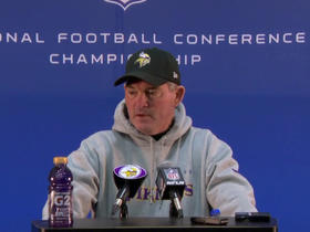 Watch: Mike Zimmer: Vikings will have to play great in all three areas to win