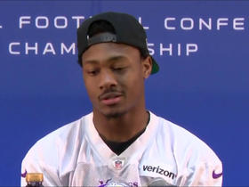 Stefon Diggs: I've believed in Case Keenum since day one