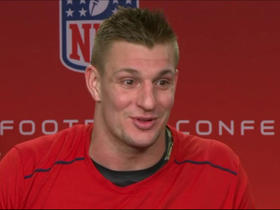 Watch: Gronk: The fans at Gillette were going 'bazooka' last year