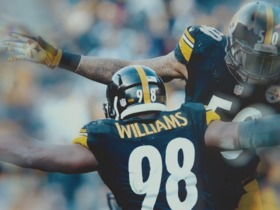 Watch: Vince Williams and Ryan Shazier's unbreakable bond