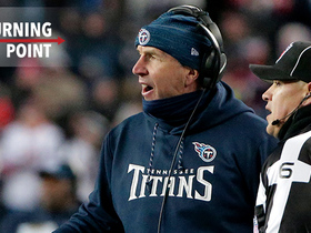 Watch: The penalty reversal that shifted the momentum of Titans vs. Patriots | 'NFL Turning Point'