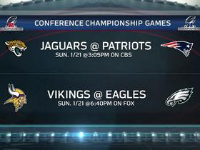 Watch: 'Inside the NFL': Conference Championship picks