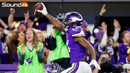 'Sound FX': Minnesota Vikings advance on Stefon Diggs' walk-off TD