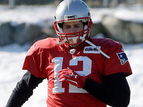 Watch: Moss: Tom Brady returned to practice today, took snaps