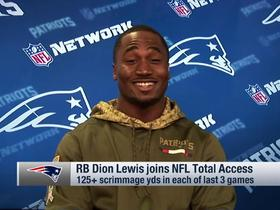 Dion Lewis on Tom Brady's hand injury: 'Nobody's really worried'