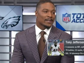 Tony Jefferson explains why the Eagles' offense is more dangerous than the Vikings'