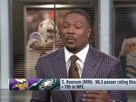 Watch: Tony Jefferson: Case Keenum can be the Vikings' QB1 for 'a long time to come'
