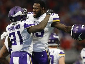 Watch: Burleson: Latavius Murray, Jerick McKinnon can lead Vikings to victory