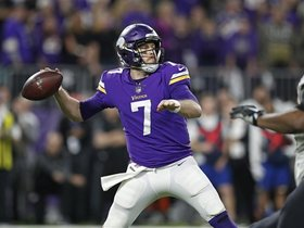 Peter Schrager: Case Keenum is knocking on the door of history