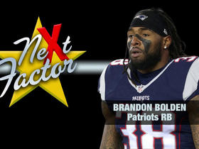 How Brandon Bolden will be the 'next factor' in the AFC Championship Game
