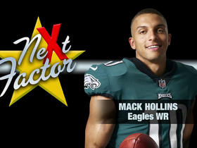 Watch: How Mack Hollins will be the 'next factor' in the NFC Championship Game