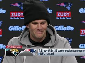 Watch: Tom Brady on hand injury: 'I'm not talking about that'