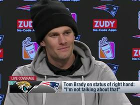Watch: Tom Brady's AFC Championship Game press conference