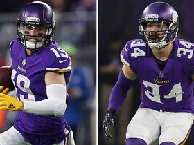 Watch: Will Thielen and Sendejo play on Sunday vs. Eagles?