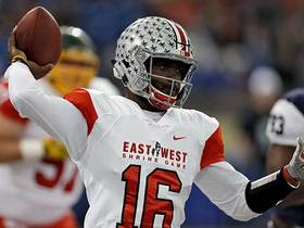 Watch: J.T. Barrett: I took a lot of knowledge from the NFL coaches this week