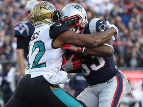 Watch: Barry Church envelops Dion Lewis for loss of yardage in red zone
