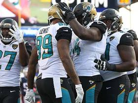 Watch: Jaguars take lead on Marcedes Lewis' first postseason TD