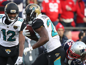 Watch: Leonard Fournette dissects Patriots' D on 13-yard run