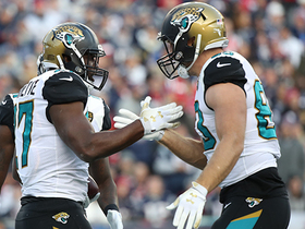 Watch: Leonard Fournette HAMMERS through Patriots D for 4-yard TD
