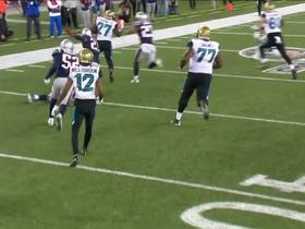 Watch: Leonard Fournette takes toss outside for 14 yards