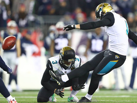 Watch: Lambo's 43-yard FG splits uprights to put Jags up by 10