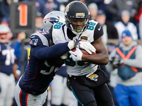 Watch: Bortles delivers play-action dime to Hurns for 20 yards