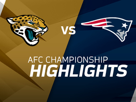 Watch: Jaguars vs. Patriots highlights | AFC Championship Game