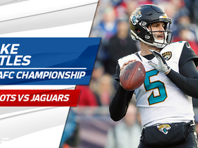 Watch: Every Blake Bortles play-action completion | AFC Championship Game