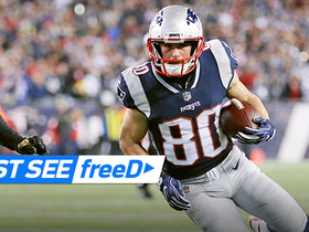Watch: freeD: Amendola fights his way into the end zone for a 9-yard TD | AFC Championship