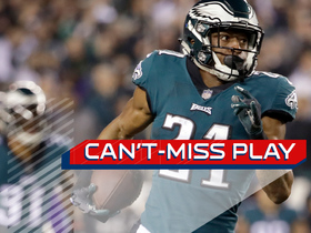 Watch: Can't-Miss Play: House call! Robinson's remarkable pick-six ties game