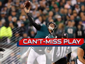 Watch: Can't-Miss Play: Foles floats perfect 41-yard TD to Smith on flea flicker