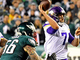 Watch: Eagles' D clamps down on Keenum to force fourth-down incompletion