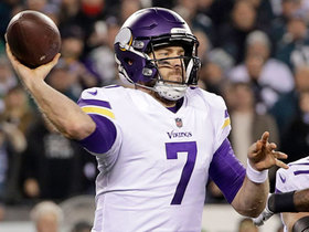 Watch: Keenum steps up and slings 14-yard pass to Diggs on third down