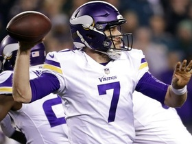 Brandt: It'd be 'madness' if Vikings don't bring Keenum back in 2018