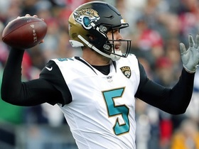 Watch: Nate Burleson: Blake Bortles earned his spot as Jaguars starting QB going forward