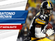 Watch: Antonio Brown 2017 highlights