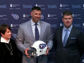 Watch: Titans introduce Mike Vrabel as head coach
