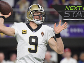 Watch: Next Gen Stats preview: Drew Brees vs. the Vikings blitz