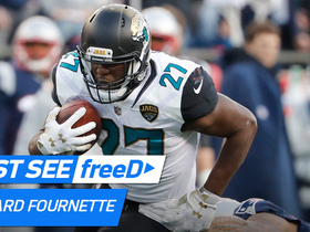 Watch: freeD: Fournette powers through the line for a big 4-yard TD | AFC Championship game