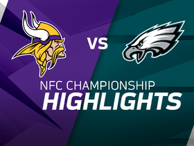 Watch: Mobile Highlights: Vikings vs. Eagles | NFC Championship Game