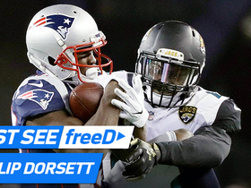 Watch: freeD: Phillip Dorsett makes an outstanding catch off the flea-flicker | AFC Championship Game