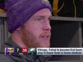 Kyle Rudolph on Eagles: 'It's going to be hard to watch them come play in our stadium'