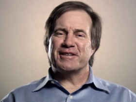Watch: Bill Belichick tells Patriots about Eagles parade night before Super Bowl XXXIX