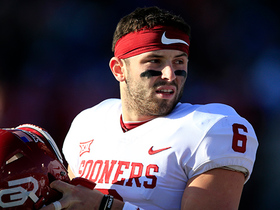 Watch: Rapoport: Heavy curiosity surrounds Baker Mayfield's awaited arrival at Senior Bowl
