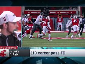 Watch: Luke Falk discusses transition from 'Air Raid' offense to NFL schemes