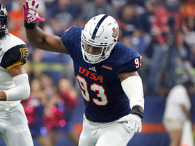 Watch: Mayock breaks down why UTSA DE Marcus Davenport can be a top 10 pick