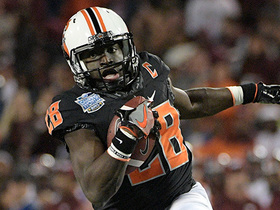 Watch: Mike Mayock breaks down why height isn't a concern for OKST WR James Washington